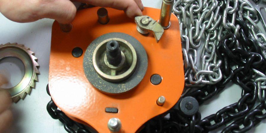 reparatie kettingtakel bij hijsservice